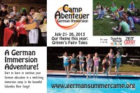 German Immersion Summer Camp 2014