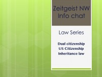 ZGNW info chat: law series