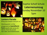 Laternenumzug November 10